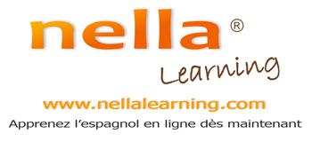 Logo de l'école d'espagnol en ligne Nella Learning